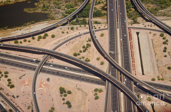 Photograph - Highway Planet Art by James BO Insogna
