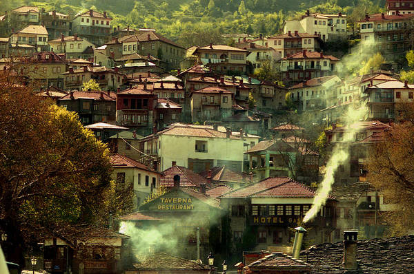 Photograph - Hill Vilage In Italy by Emanuel Tanjala