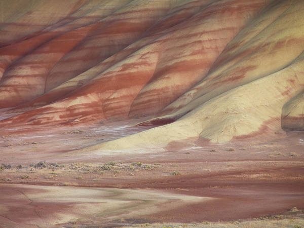 Photograph - Hills Painted By Earth Minerals by Leland D Howard