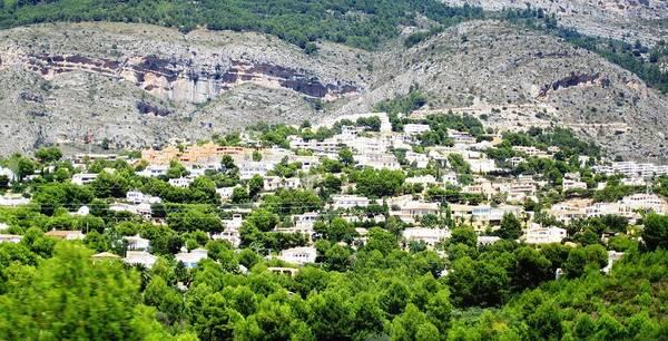 Photograph - Hillside Homes Near Valencia Spain by John Shiron
