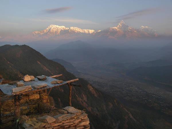 Nepal Wall Art - Photograph - Himalaya Range by Nina Papiorek