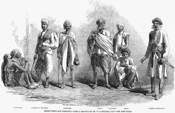 Photograph - Hindu Thugs, 1857 by Granger