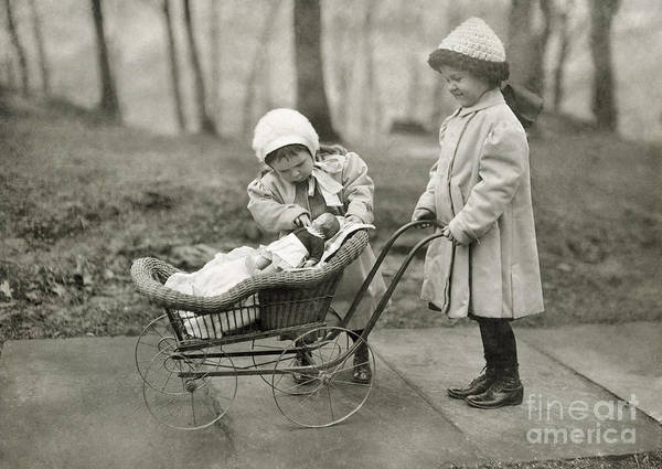 Photograph - Hine: Children, 1912 by Granger