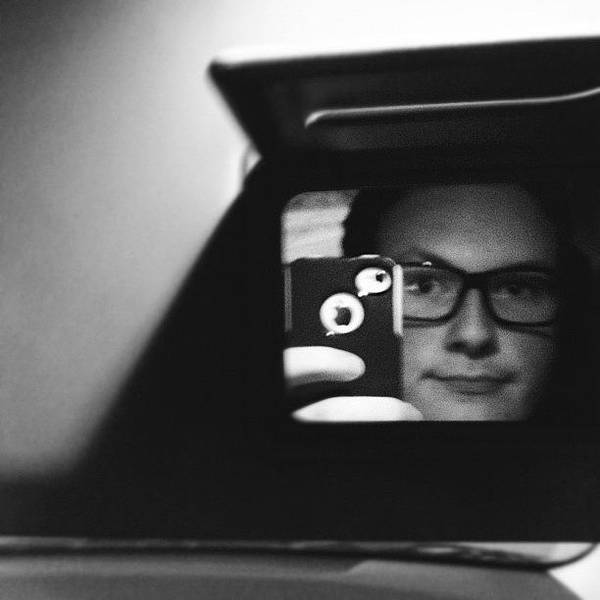 Wall Art - Photograph - Hip, Even In The Car. #selfie by Brad Sinclair