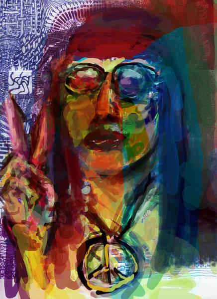 Hippy Digital Art - Hip by James Thomas