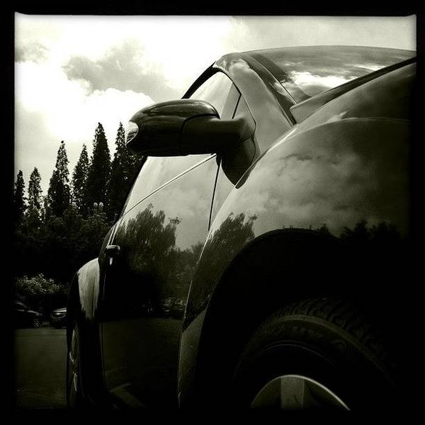 Volkswagen Photograph - #hipstamatic #johns #claunch72monochrome by Wei Zhang