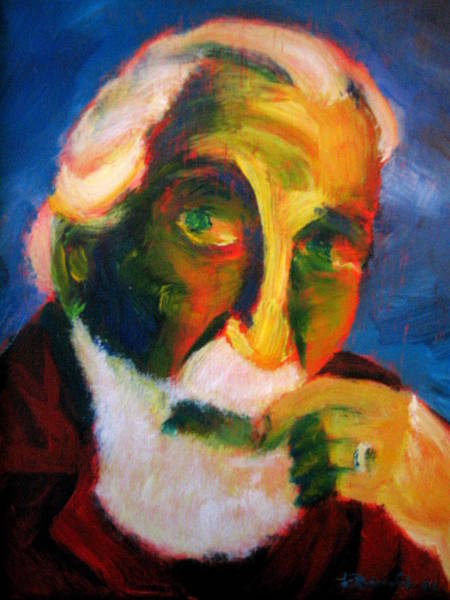Painting - Hirshfeld by Jason Reinhardt