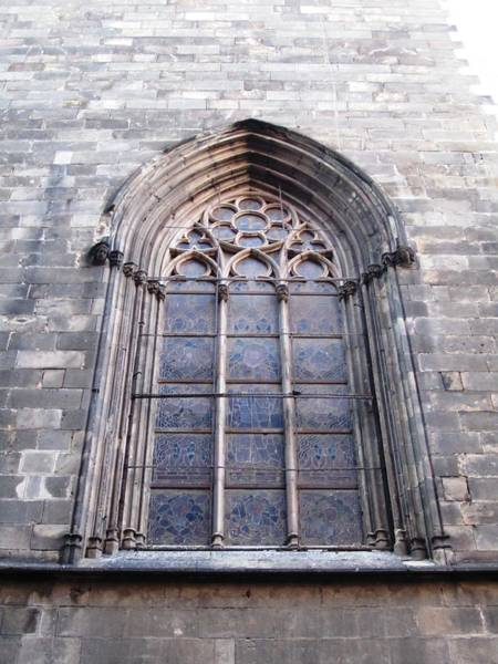 Photograph - Historic Building With Ornate Window Design Barcelona Spain by John Shiron