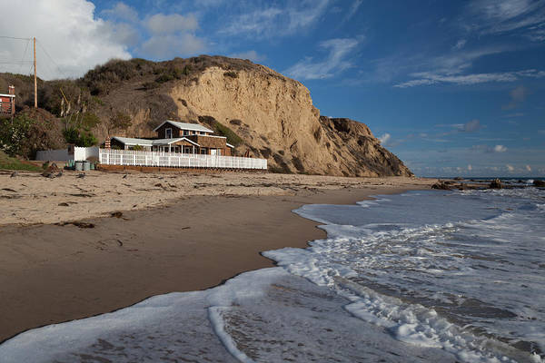 Photograph - Historic Cottage  Crystal Cove State Beach by Cliff Wassmann