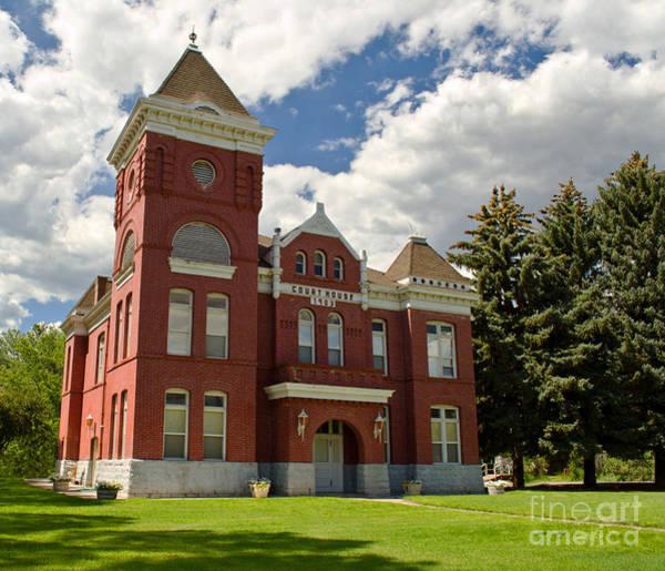 Photograph - Historic Courthouse Marysvale Utah by Donna Greene