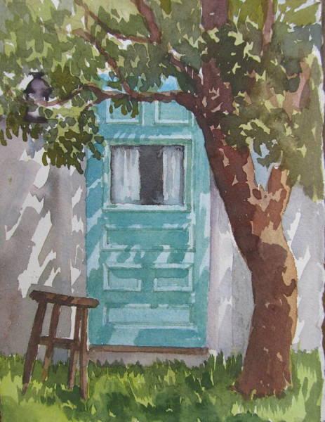 Painting - Historic Door by Sharon Lehman