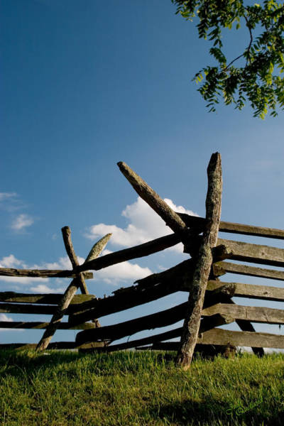 Wall Art - Photograph - Historic Fence At Antietam by Judi Quelland