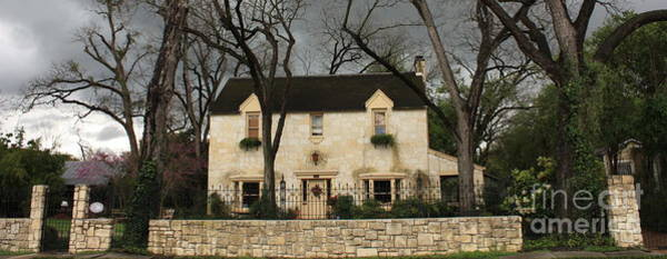 Photograph - Historic House In San Antonio by Carol Groenen
