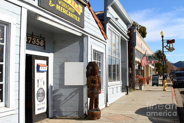 Photograph - Historic Niles District In California Near Fremont . Devils Workshop And Mercantile . 7d10660 by Wingsdomain Art and Photography