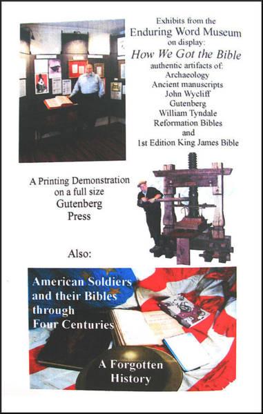 Photograph - History - Gutenberg Press by Glenn Bautista
