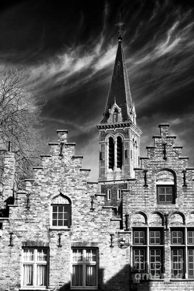 Wall Art - Photograph - History In Bruges by John Rizzuto