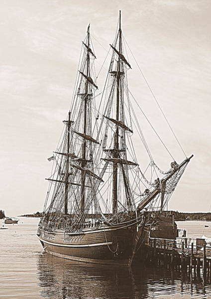 Photograph - Hms Bounty by Doug Mills
