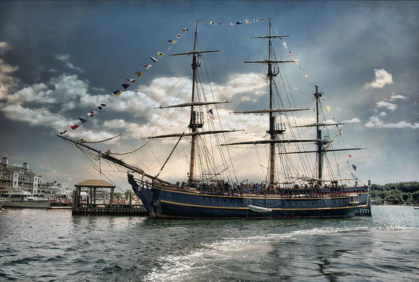Photograph - Hms Bounty Newport by Robin-Lee Vieira