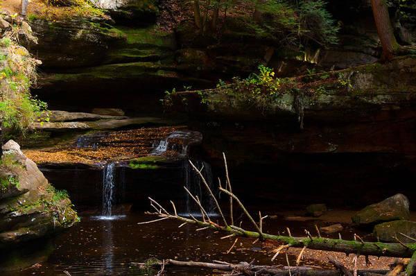 Hocking Hills Photograph - Hocking Falls by Vijay Sharon Govender