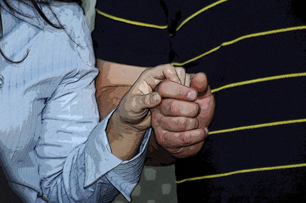 Photograph - Holding Hands by Carolyn Marshall