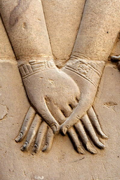 Photograph - Holding Hands by Joe & Clair Carnegie / Libyan Soup