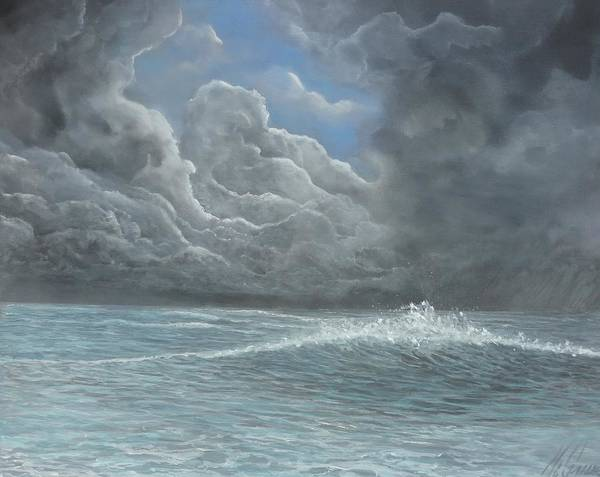 Captiva Island Painting - Hole In The Sky by Jk Mcgreens