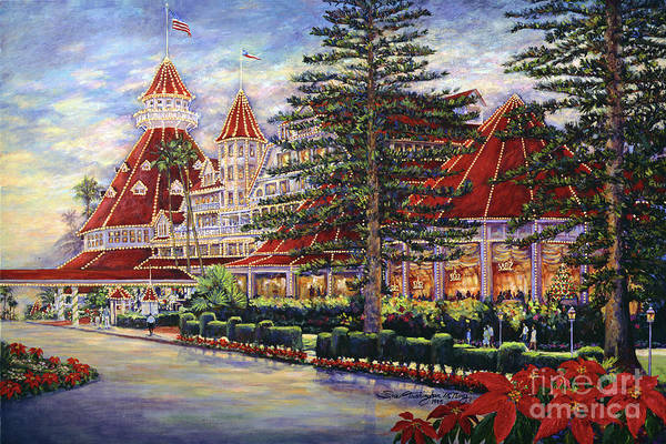 Holiday Hotel Art Print