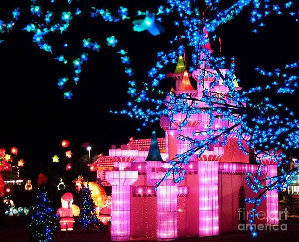 Photograph - Holiday Lights 8 by Xueling Zou