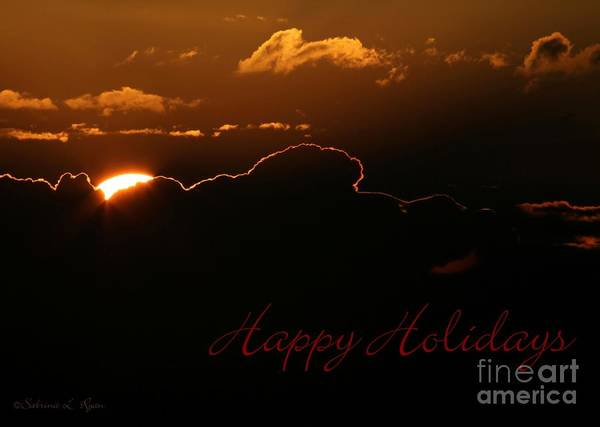 Photograph - Holiday Sunrise by Sabrina L Ryan