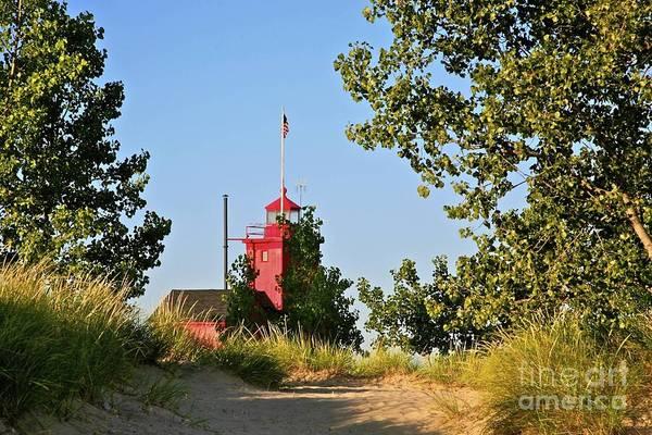 Holland Mi Wall Art - Photograph - Holland Mi Lighthouse by Robert Pearson