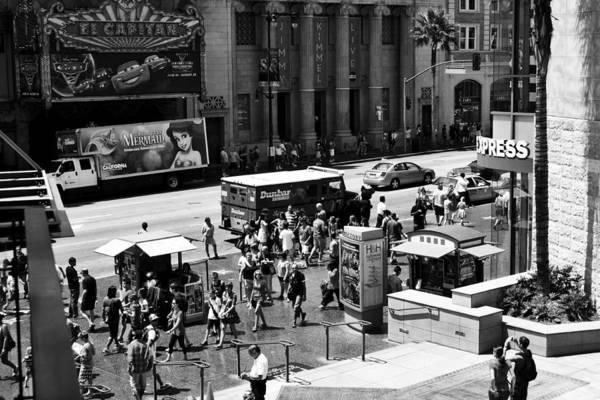Boulevard Photograph - Hollywood Hustle by Ricky Barnard
