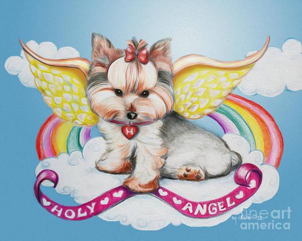 Mixed Media - Holy Angel by Catia Lee