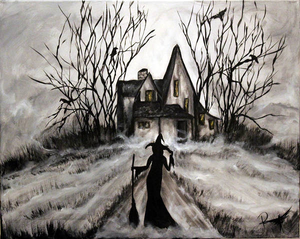 Wicked Witch Digital Art - Home Again by Holly Stokes