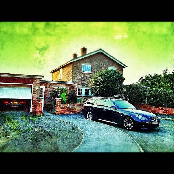 Bmw Photograph - #home #bmw #mx5 #greatstaughton #colour by Mark  Thornton