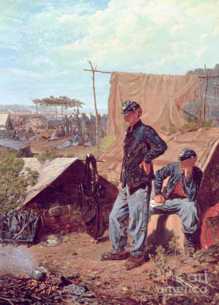 Encampment Wall Art - Painting - Home Sweet Home by Winslow Homer