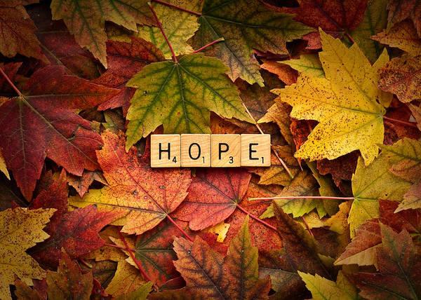 Photograph - Hope-autumn by  Onyonet  Photo Studios