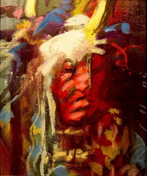 Painting - Horn Spirit by Les Leffingwell