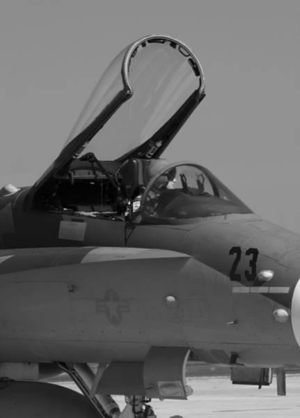 Wall Art - Photograph - Hornet And Pilot by Ricky Barnard