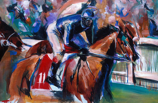 Painting - Horse 11 by John Jr Gholson