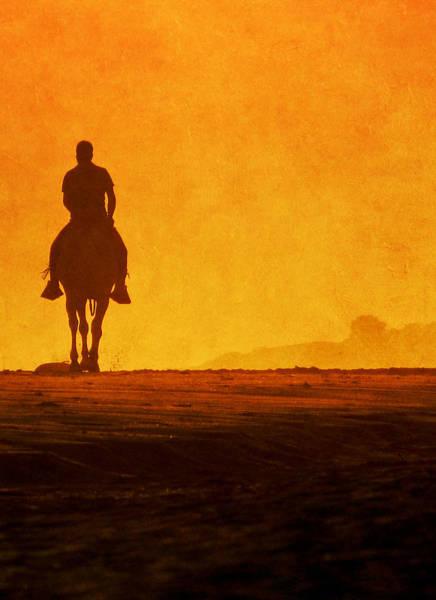 Wall Art - Photograph - Horse Rider On Beach by Antonio Arcos Aka Fotonstudio Photography
