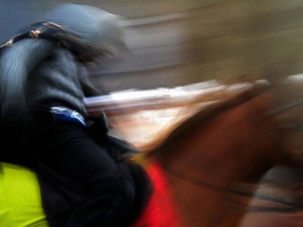 Photograph - Horserider by Colette V Hera  Guggenheim