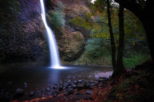 Photograph - Horsetail Falls by Matt Hanson