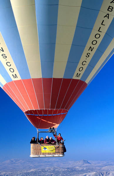 Nevsehir Photograph - Hot Air Balloon. by Dallas Stribley