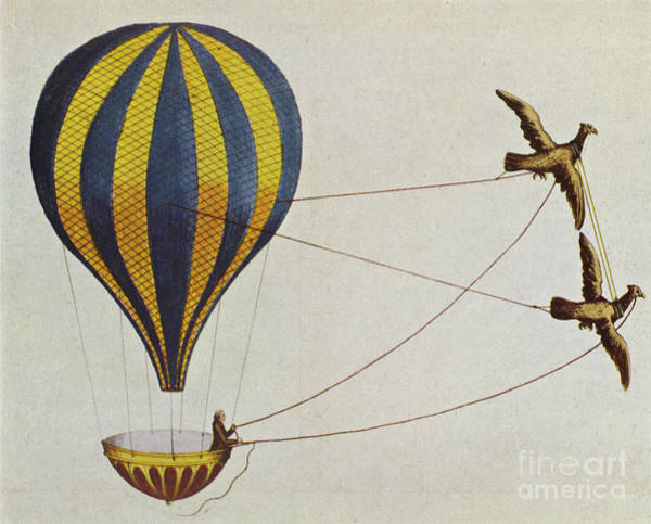 Photograph - Hot Air Balloon by Science Source