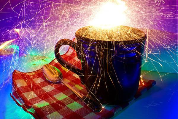 Coffee Mug Photograph - Hot Coffee by Barbara  White
