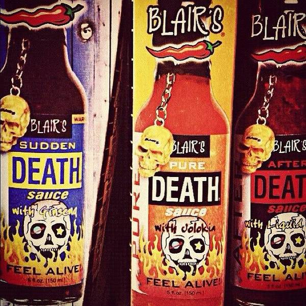 Death Wall Art - Photograph - Hot Sauce by Britain Hayhurst
