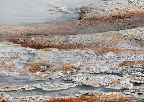 Photograph - Hot Springs Abstract Two by Sabrina L Ryan
