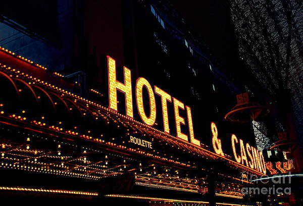 Photograph - Hotel And Casino In Las Vegas by Susanne Van Hulst