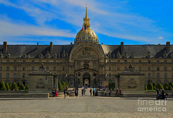 Invalides Photograph - Hotel Des Invalides by Louise Heusinkveld