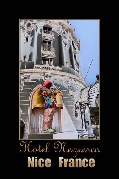 Photograph - Hotel Negresco France by Andrew Fare